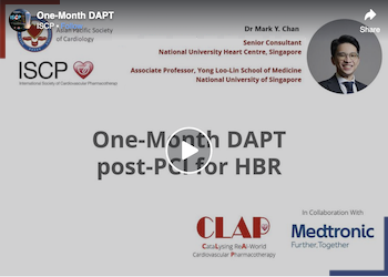 One-month Dual Anti-Platelet Therapy (DAPT) in Patients with HBR Undergoing PCI