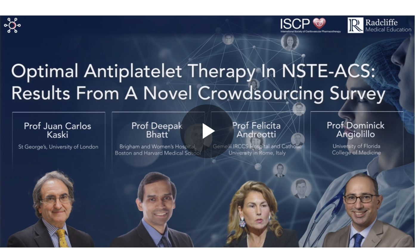 <br>Antiplatelet Therapy In NSTE-ACS